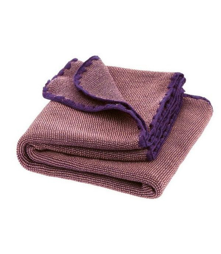 Disana Merino Wool Baby Blanket - Melange Plum/Rse
