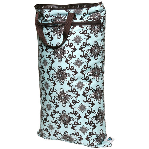 Aqua Swirl - Planet Wise Hanging Wet Bag