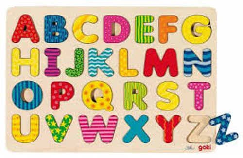 Goki Alphabet Puzzle