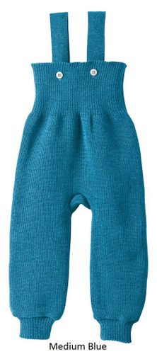 Disana Knitted Trousers Medium Blue