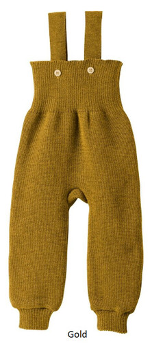 Disana Knitted Trousers Gold
