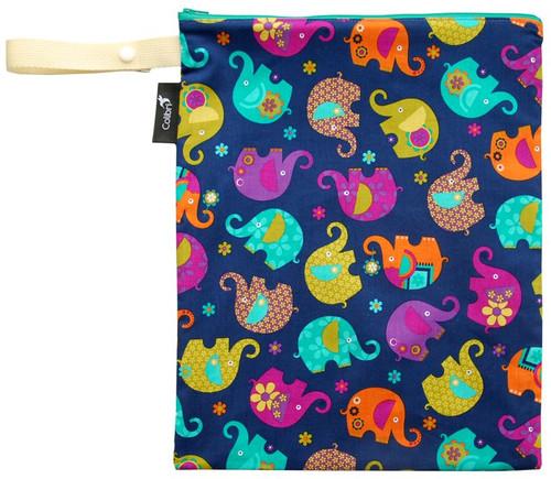 Colibri Medium Wet Bag - Elephants