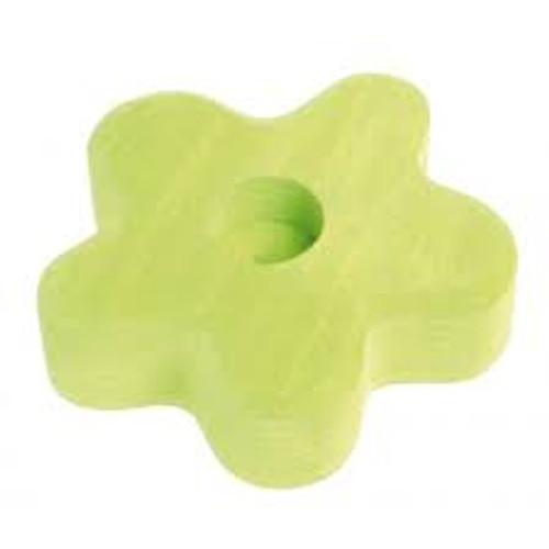 Lifelight Candle Holder - Light Green Flower