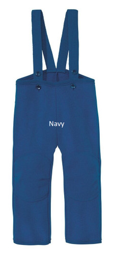 Disana Boiled Wool Trousers Navy