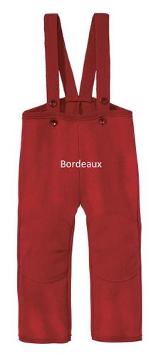 Disana Boiled Wool Trousers Bordeaux