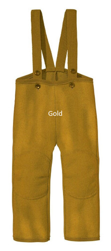 Disana Boiled Wool Trousers Gold