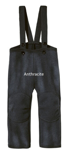 Disana Boiled Wool Trousers Anthracite