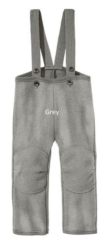 Disana Boiled Wool Trousers Grey