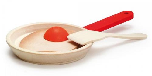 Erzi Wooden Fried Egg