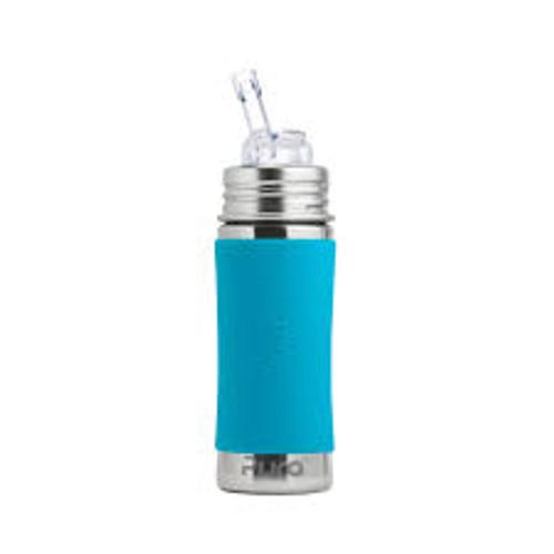 Pura Kiki Straw Bottle - Aqua Sleeve