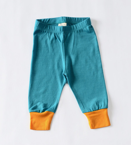 Wee Woollies Merino Pant - Surf Sunrise