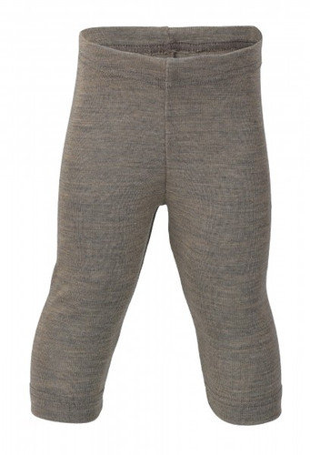 Engel Baby Leggings Organic Merino Wool/Silk - Walnut (up to 3T)