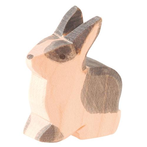 Ostheimer Wooden Rabbit Black & White