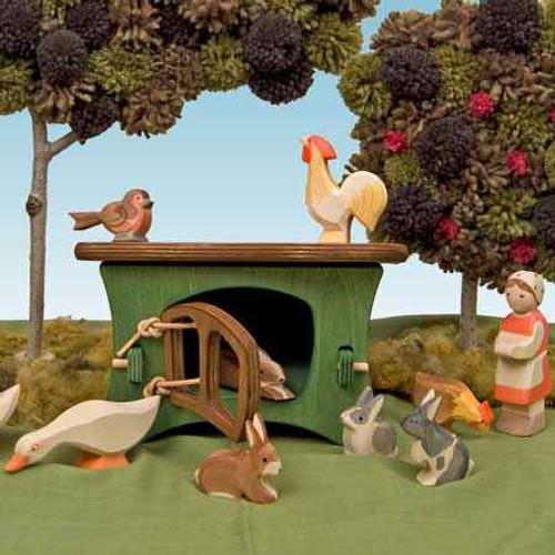 Ostheimer Wooden Rabbit/ Geese Hutch