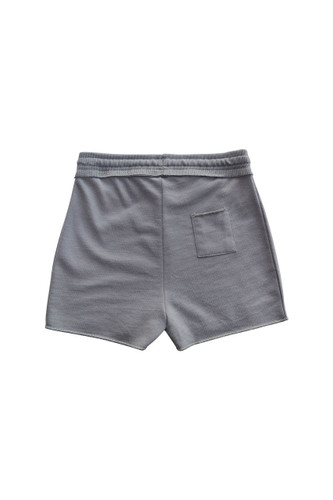 Nui Organics Pearl Shorts - Grey - Back