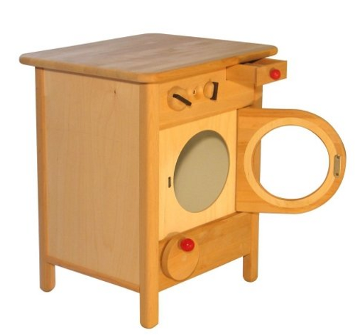 Wooden Washing Machine by Drewart