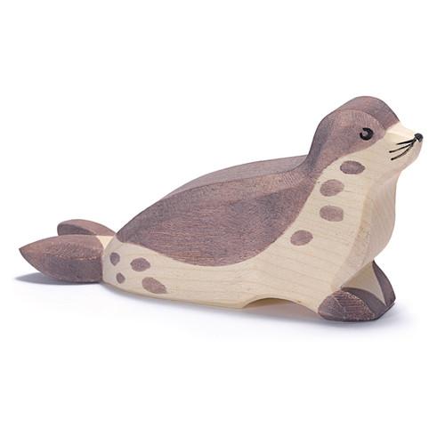 Ostheimer Wooden Sea Lion w/ head low