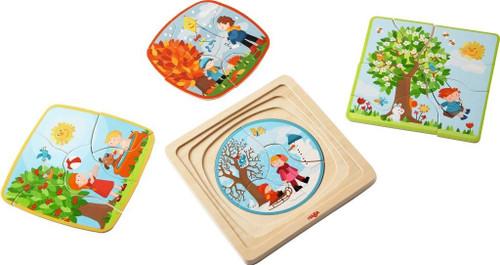 HABA Four Seasons Layered Puzzle