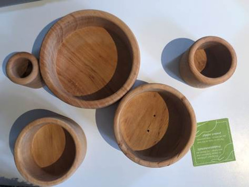 Grimm's Stacking Bowls - Oceanblue