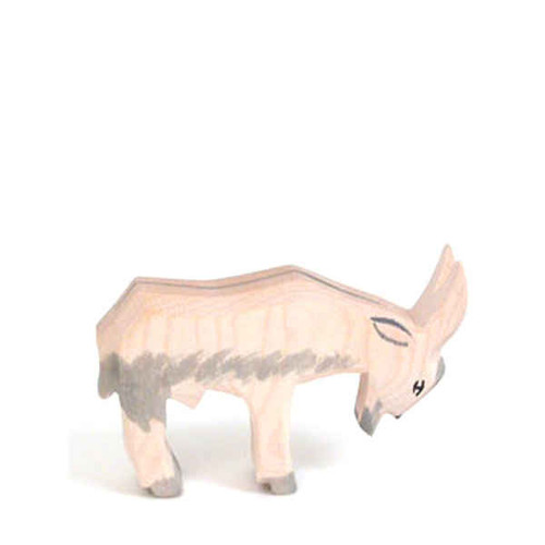 Ostheimer Wooden Goat - Head Low