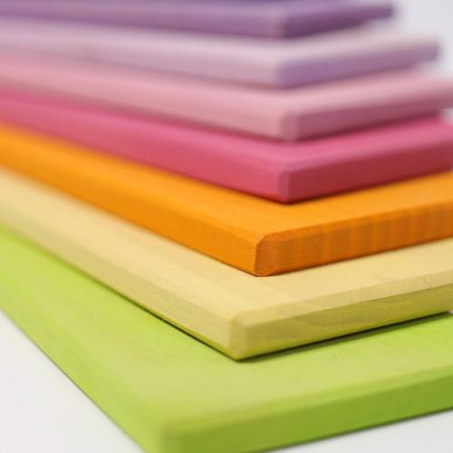 Grimm's Building Boards - Pastel