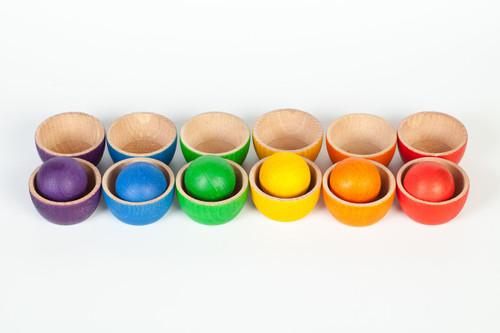 Grapat Coloured Bowls and Large Balls
