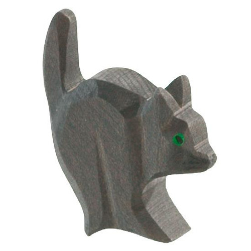 Ostheimer Wooden Cat for Witch