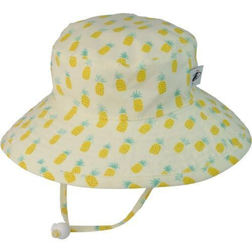 Puffin Gear Cotton Sunbaby Sun Hat - Pinapple