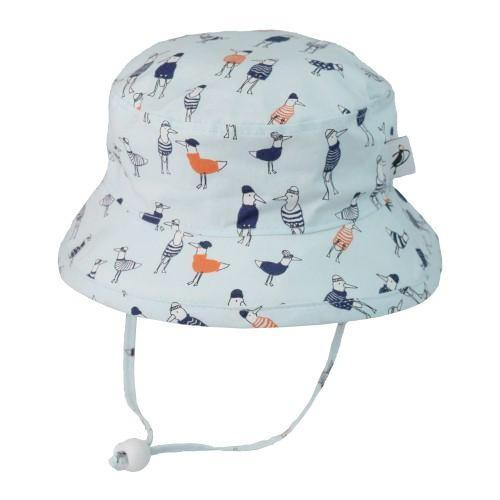 Puffin Gear Cotton Camper Sun Hat - Seagull