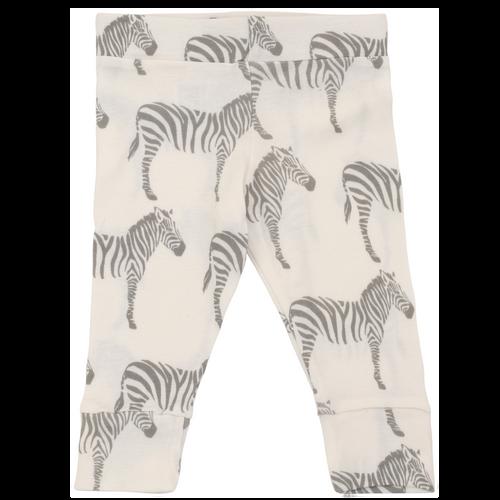 Milkbarn Organic Cotton Legging - Grey Zebra