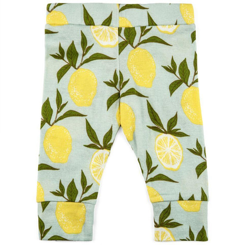 Milkbarn Organic Cotton Legging - Lemon