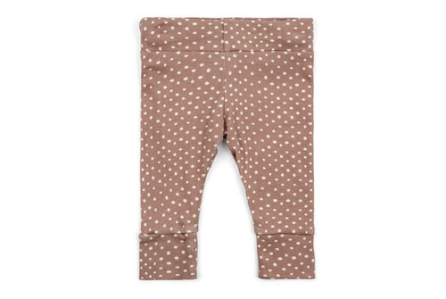 Milkbarn Organic Cotton Legging - Rose Dot