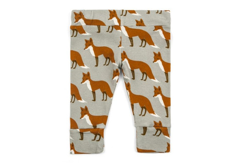 Milkbarn Organic Cotton Legging - Orange Fox