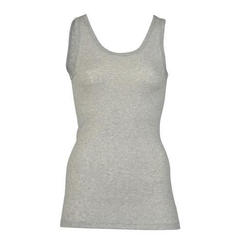 Engel Ribbed Organic Cotton Women's Tank Top - Light Grey