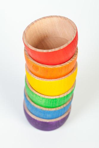 Grapat Coloured Bowls 6 pc.
