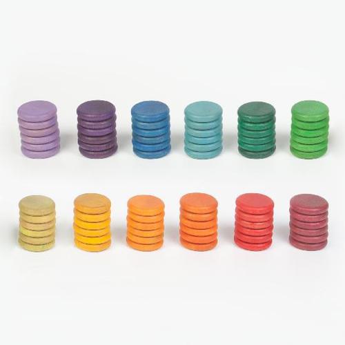 Grapat Rainbow Coins 72 pc