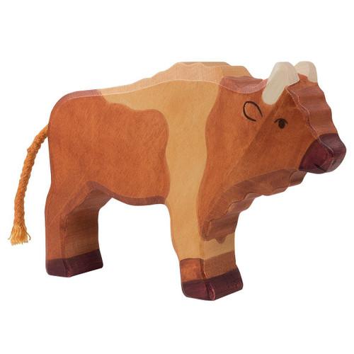 Holztiger Bison
