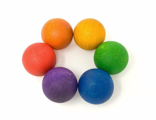 Grapat Coloured Balls 6 pcs (6 colours)