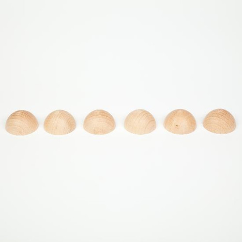 Grapat Wooden Medium Spheres Natural 6 pcs.