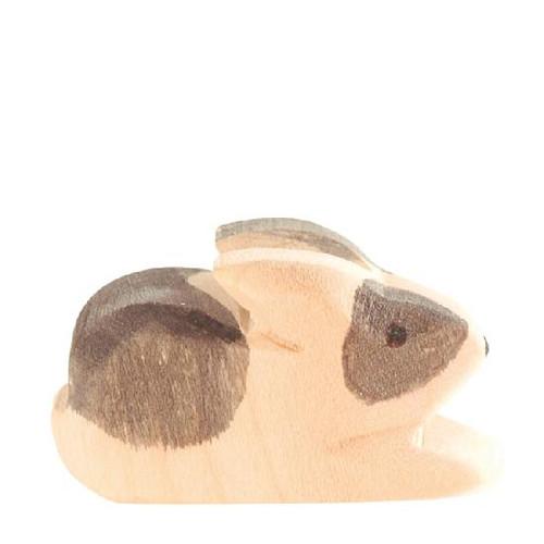 Ostheimer Wooden Rabbit Black & White Small