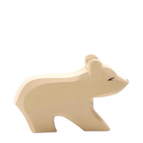 Ostheimer Wooden Polar Bear Small Short Neck