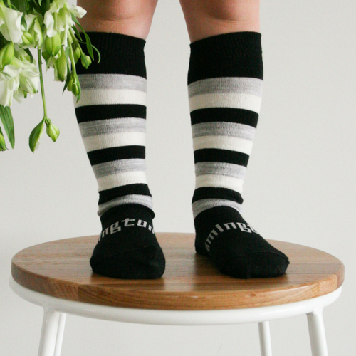 Lamington Knee-High Wool Socks