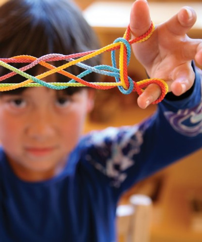 Rainbow String Game