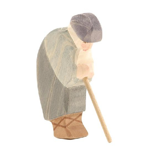 Ostheimer Nativity Figure - Shepherd Bowing