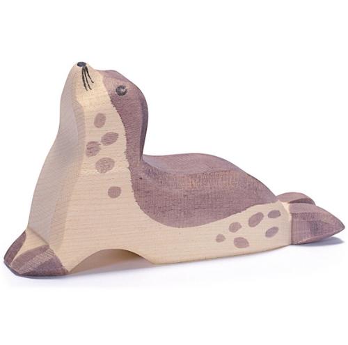 Ostheimer Wooden Sea Lion Head High
