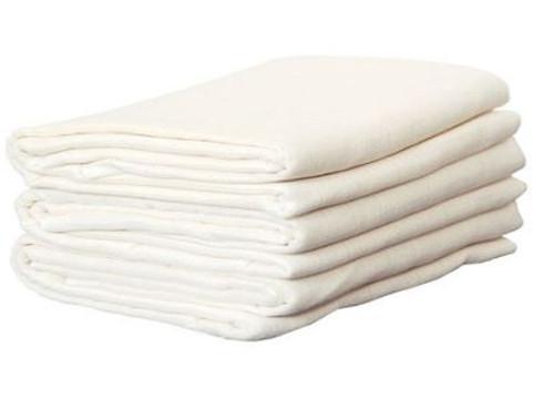 Disana Organic Cotton Muslin Flats - 5 Pack