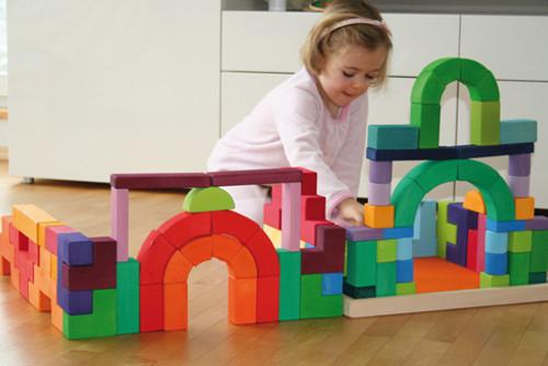 Grimm's Large Romanesque Building Blocks