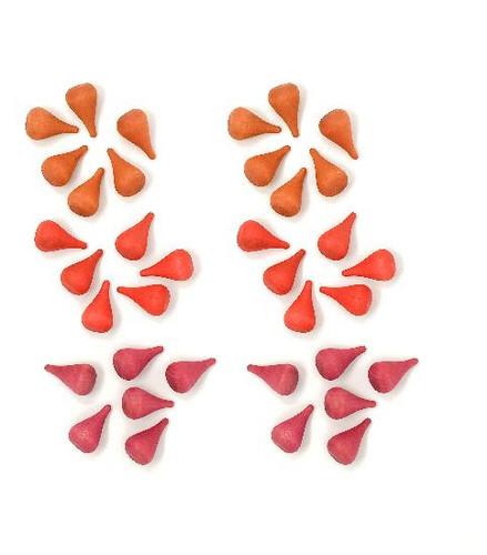 Grapat Mandala Mini Pines - Red (18-199)