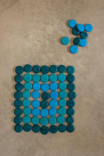 Grapat Mandala Mini Coins - Blue (18-198)