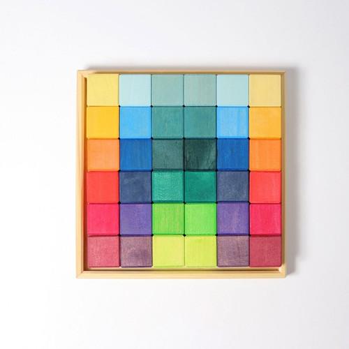 Grimm's Building Blocks Rainbow Squares